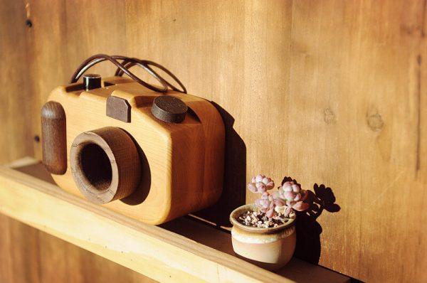 real wood speakers