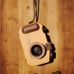 mini wooden speaker
