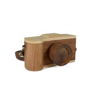 wooden purse