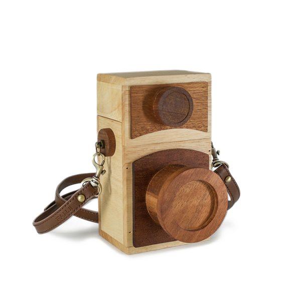 wooden purse box