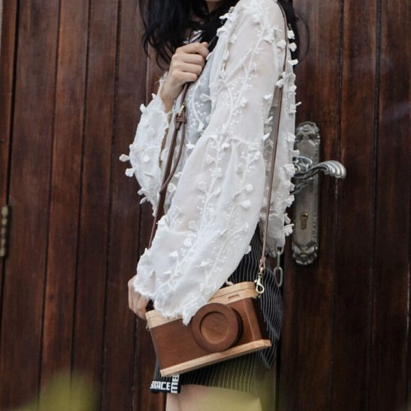wooden purses handbags