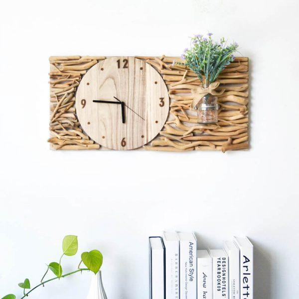 wood artwork for walls