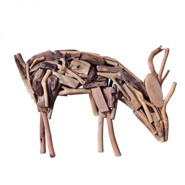 handmade wooden animals