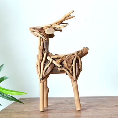 small wooden animals