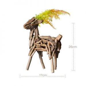 wooden animal shapes