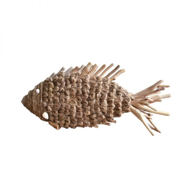 wood fish art