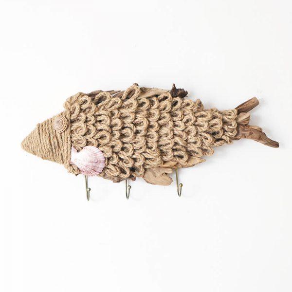 wooden wall fish