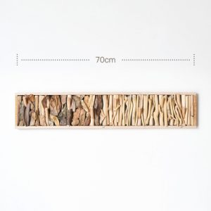 wooden wall rack
