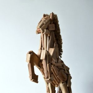 wooden horses for sale