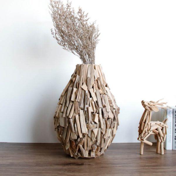 wooden vases for sale