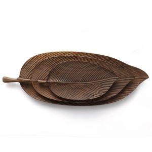 cheap wooden plates