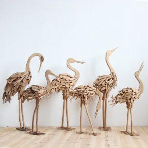 driftwood animals