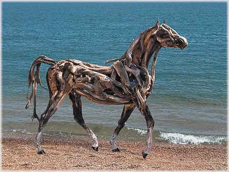 large driftwood sculpture (3)