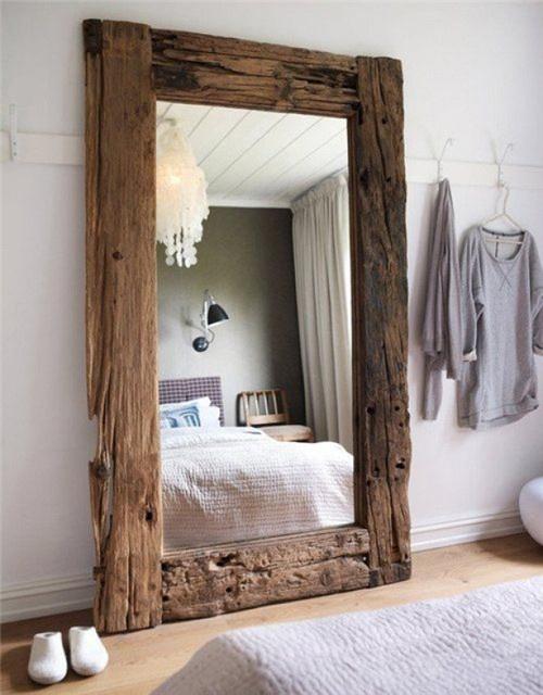 natural wood frames