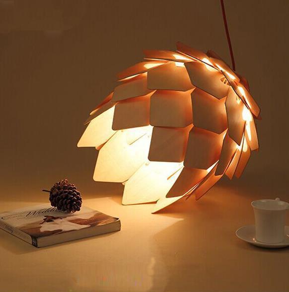 wood light lamp