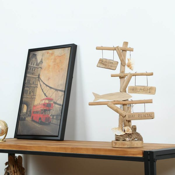 wooden table decor (2